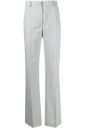 HEBE STUDIO Women Trousers - Pinstripe virgin wool-trousers