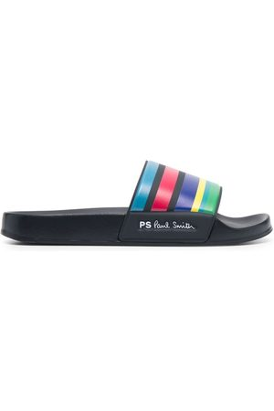 Paul Smith Men Sandals - Striped sliders
