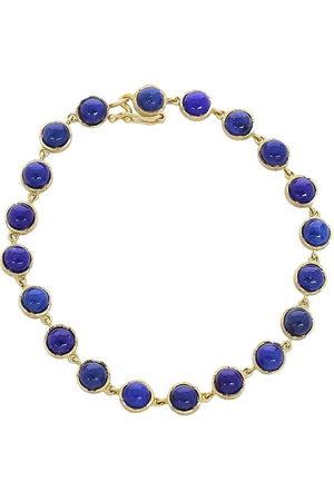 Irene Neuwirth 18kt yellow cabochon lapis bracelet