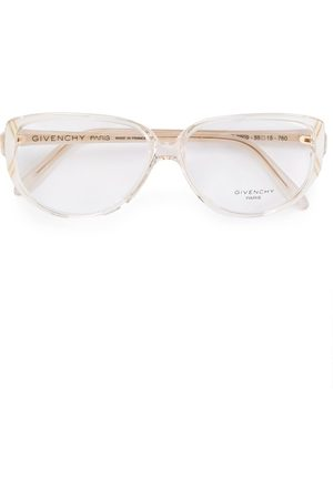 Givenchy Pre-Owned Transparent cat eye glasses