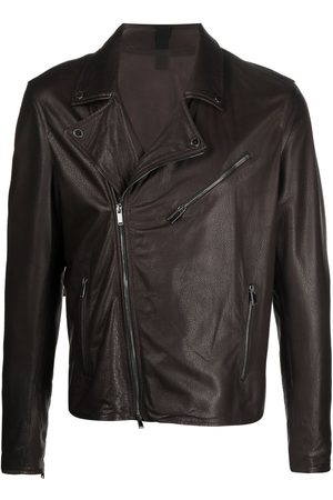 TAGLIATORE Leather biker jacket