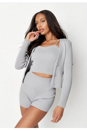 Missguided Women Cardigans - Co Ord Rib Knit Cardigan