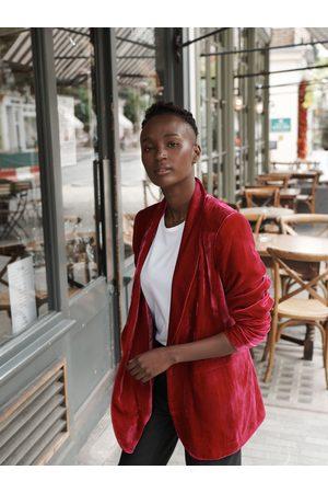 NRBY May velvet jacket