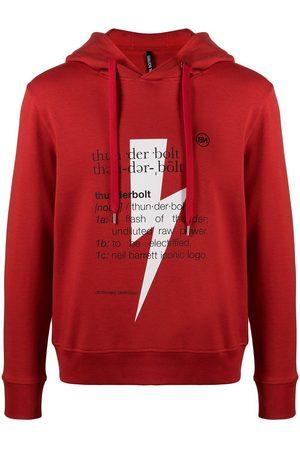 Neil Barrett Men Sweatshirts - MEN'S PBJS722SQ513S1110 COTTON SWEATSHIRT