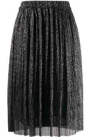 Isabel Marant Women Midi Skirts - Beatrice metallic midi skirt