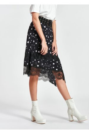 Essentiel Antwerp Zanary Lace Detail Skirt
