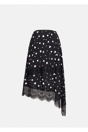Essentiel Antwerp Zanary Lace Detail Skirt - Combo1 Black Z1BL