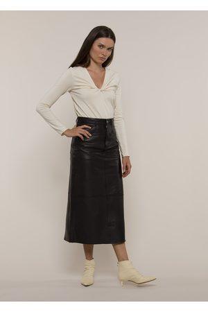 House of Dagmar Sky Skirt - Good Choice Leather