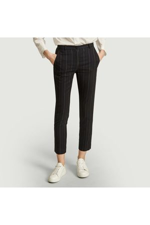 Admise Paris George tailored trousers with tennis stripes Tennis