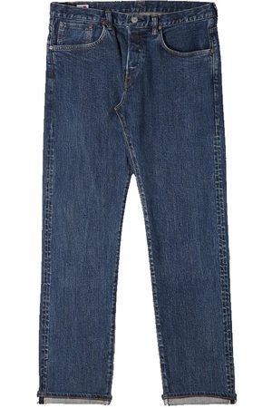 Edwin Regular Tapered Jeans - Made in Japan - Even Wash Mid L32