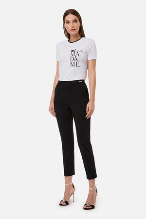 Elisabetta Franchi Women Formal Trousers - Cigarette Trousers