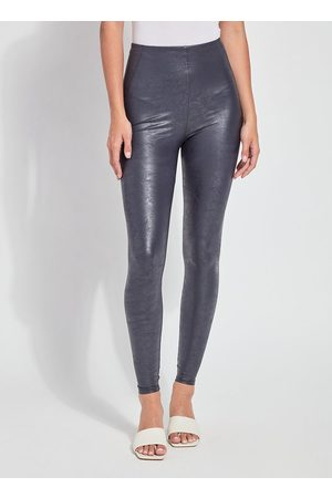 Lysse Women Trousers - True Navy Foil Matilda Legging
