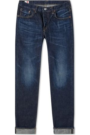 Edwin Regular Tapered Jeans - Made in Japan - Dark Used L32