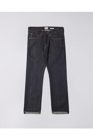 Edwin Nashville Straight Red Listed Selvage Denim Unwashed