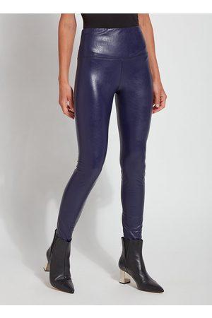 Lysse Women Trousers - Textured Vegan Leather Legging