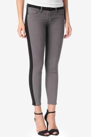 Hudson Women Skinny Trousers - Hudson WC449 Leelou Skinny Steel Crop