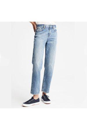 Denham Women Straight - Bardot Straight Leg - Stonewash