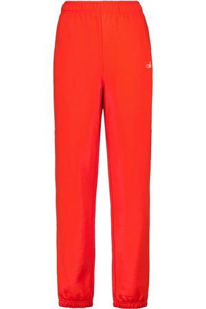 alo Accolade cotton-blend sweatpants