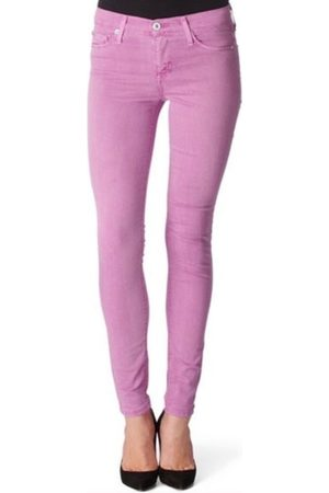 Hudson Jeans Women Skinny Trousers - Hudson WM407JFD Nico Skinny Lavender