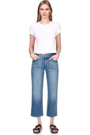 Dl Women Wide Leg Trousers - 1961 Hepburn Barlowe Wide Leg Jeans