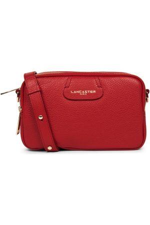Lancaster Women Purses & Wallets - Dune Small shoulder three zip - Rouge