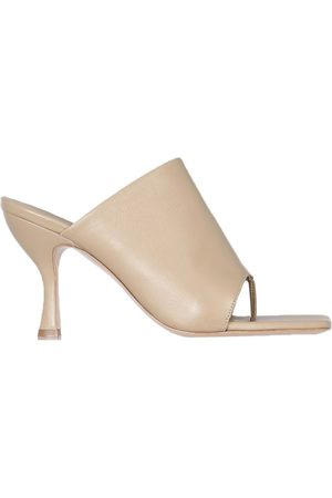 GIA WOMEN'S PERNI0209 BEIGE OTHER MATERIALS SANDALS