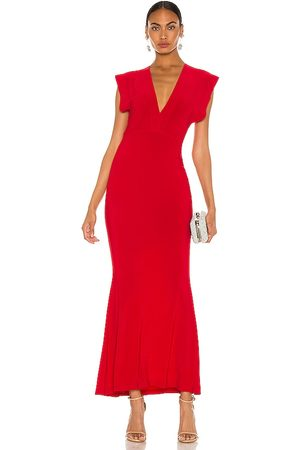 Norma Kamali Women Evening Dresses - X REVOLVE V Neck Rectangle Gown in . Size XS, S, M.
