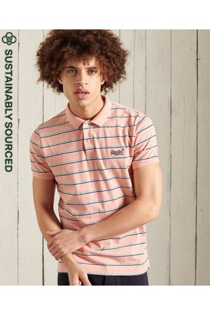 Superdry Organic Cotton Vintage Feeder Stripe Polo Shirt