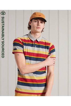 Superdry Men Polo Shirts - Organic Cotton Cali Stripe Polo Shirt