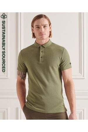 Superdry Organic Cotton Textured Jersey Polo Shirt