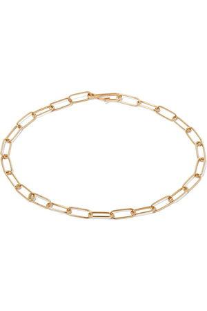 ANNOUSHKA 14kt yellow mini cable link chain large bracelet