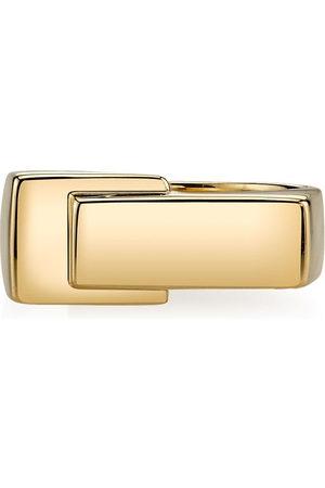 Lizzie Mandler Fine Jewelry Overlap pinky ring