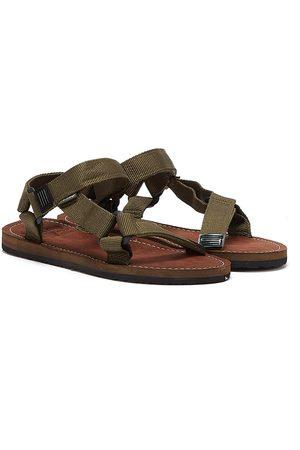 Barbour Hillman Mens Olive Sandals