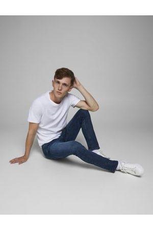 Jack & Jones M&S Mens Slim Fit 5 Pocket Jeans - 3034 - Denim, Denim