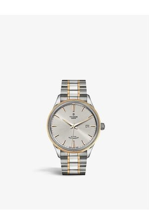 TUDOR M12703-0002 Style stainless-steel and 18ct - automatic watch