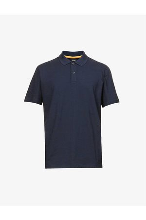 HUGO BOSS Cotton-jersey polo shirt
