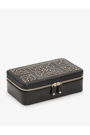 The Alkemistry WOLF Marrakesh studded leather jewellery case