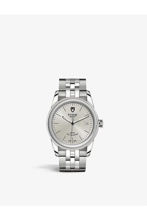 TUDOR M55000-0005 Glamour Date stainless steel automatic watch