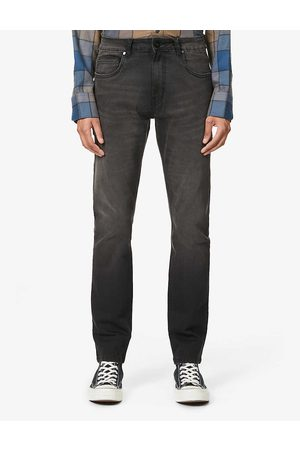 NO.91 Slim tapered stretch-denim jeans