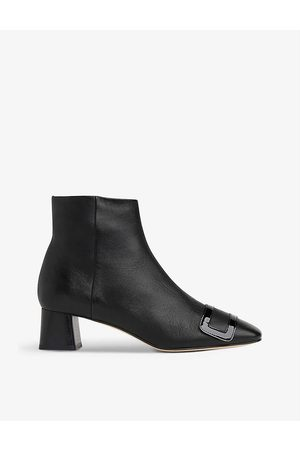 LK Bennett Aria leather ankle boots