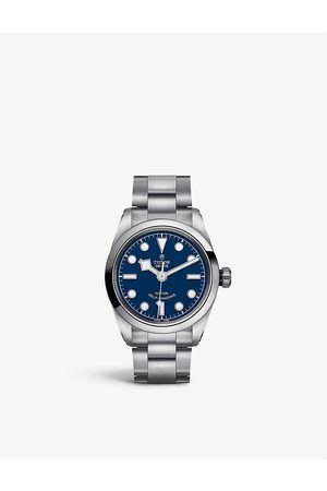 TUDOR Black Bay 32mm stainless steel watch