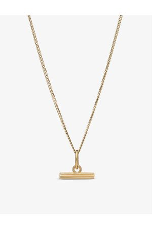 Rachel Jackson Momento mini T-bar sterling silver necklace