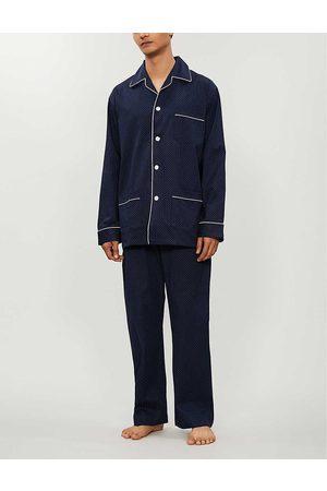 DEREK ROSE Men's Cotton Pyjama Set