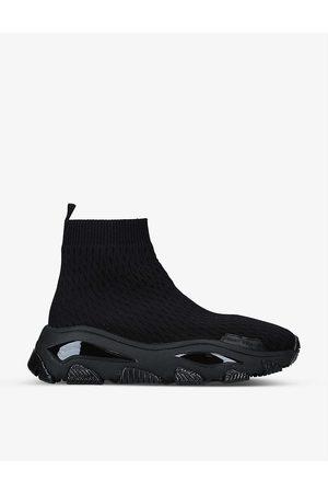 Kurt Geiger Lettie Knit Drench Sock trainers
