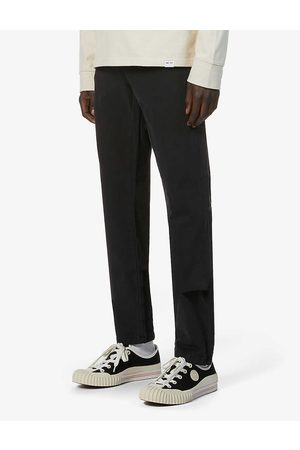NEUW Clash slim stretch-cotton trousers
