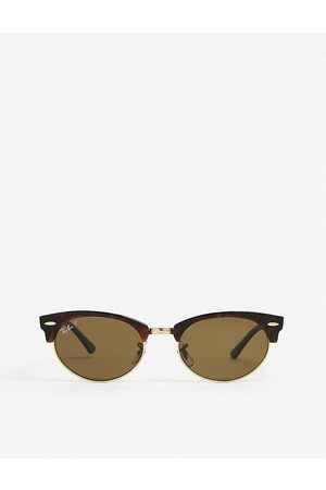 Ray-Ban Men Sunglasses - RB3946 Clubmaster acetate sunglasses