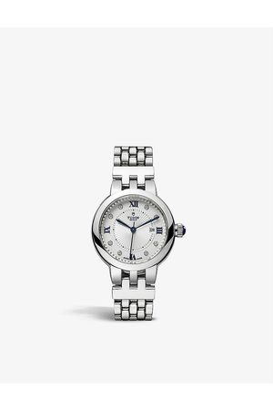 TUDOR M35500-0004 Claire de Rose stainless steel and diamond automatic watch