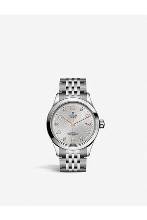 TUDOR M91350-0003 1926 stainless-steel and diamond automatic watch