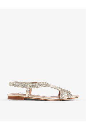 LK Bennett Renee open-toe woven sandals