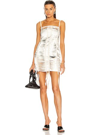 Givenchy Bands Mini Dress in Ivory
